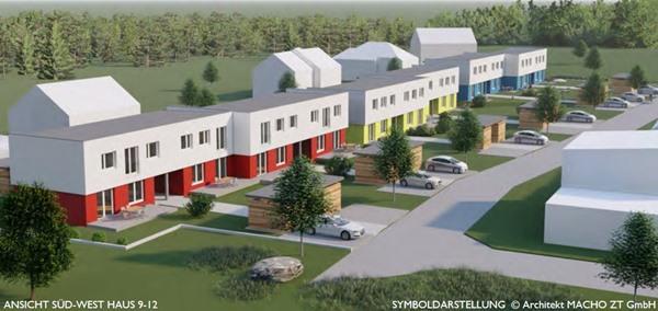 Immobilie von Schönere Zukunft in 3945 Hoheneich, Sonnenweg 3-5 / RH 10
